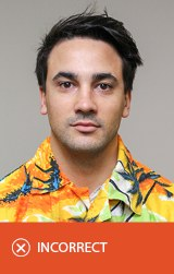 Incorrect photo - Hawaiian shirt.