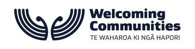 Welcoming Communities logo.